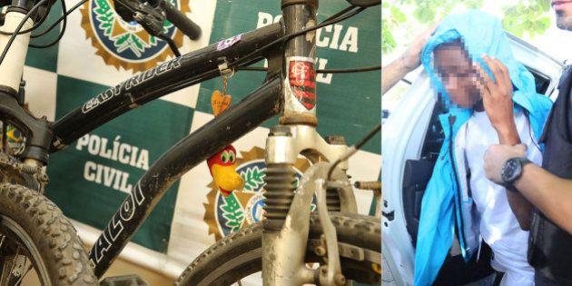 Menor apreendido diz à polícia que roubava cinco bicicletas por