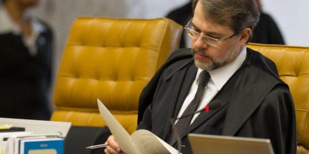 Resultado de imagem para ministro Dias Toffoli