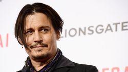 Johnny Depp fica ferido durante filmagens de