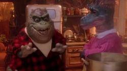 ASSISTA: Dino da Família Dinossauro faz... Rap como Notorious