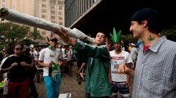 Marcha da Maconha de SP tem 'cigarro' de seis