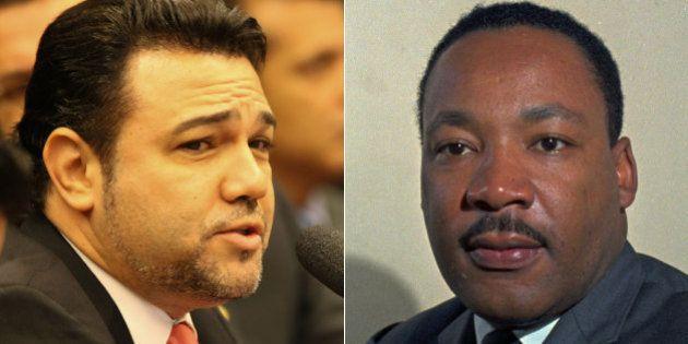 Marco Feliciano se compara a Martin Luther King em sessão da Comissão de Direitos