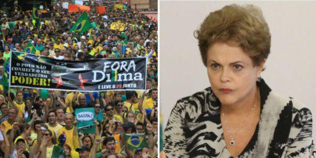 'Não tenho temor disso, respondo pelos meus atos', diz Dilma sobre