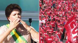 Em defesa do governo Dilma, militantes vão às ruas nesta