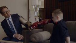 ASSISTA: Garoto ganha braço biônico do Homem de Ferro... em