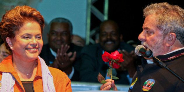 Dilma vai ao sacrifício em nome da vitória de Lula em