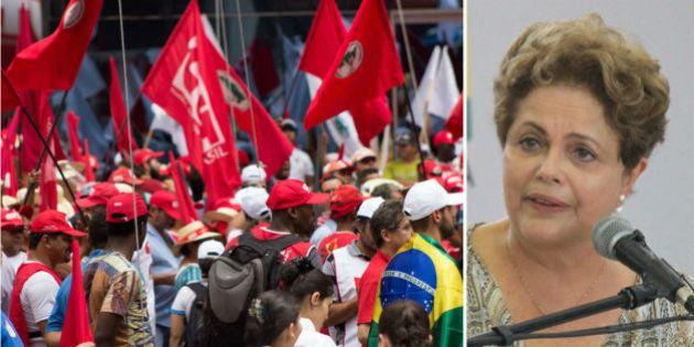 Ato em defesa da presidente Dilma Rousseff e da Petrobras espera 30 mil pessoas só em São