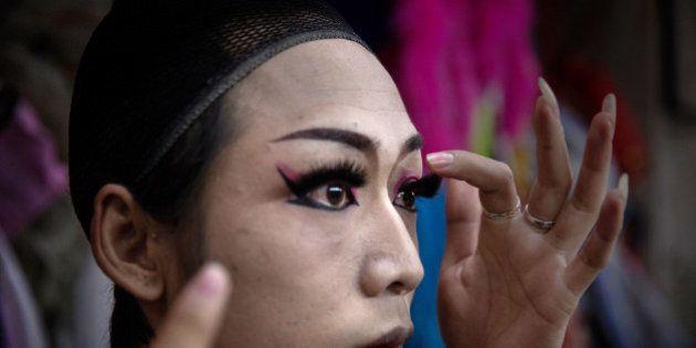 Conheça as estonteantes drag queens da China
