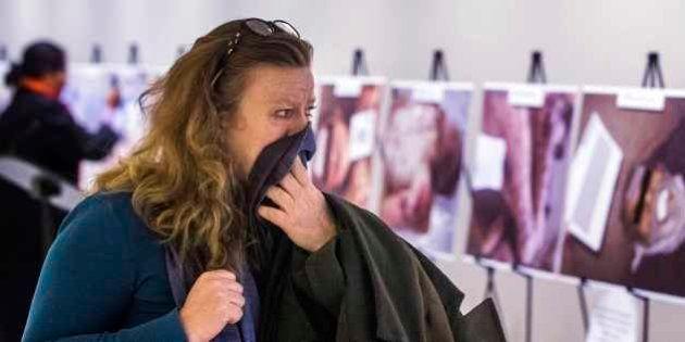 'É imperativo não desviar o olhar': ONU expõe fotos chocantes de vítimas do conflito da