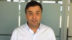 'Vá para rua defender a democracia e o Brasil', diz Aécio sobre