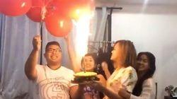 ASSISTA: Festa de aniversário (quase) termina em