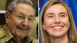 Cuba receberá pela primeira vez visita da chefe da diplomacia da União