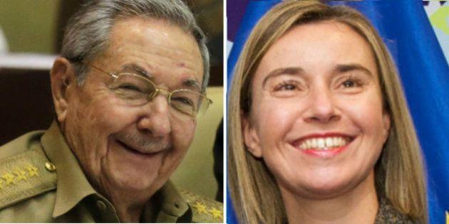Cuba receberá visita de chefe da diplomacia da União Europeia pela primeira