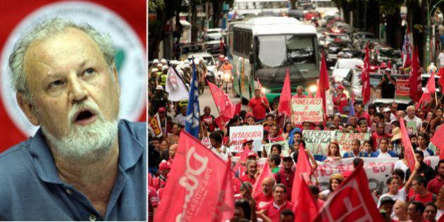 Coordenador do MST, João Pedro Stédile, diz que governo tem que 'criar vergonha' e dar resposta a quem...