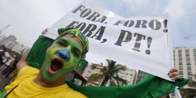 Veja imagens dos protestos de 15 de Março contra Dilma Rousseff em todo o Brasil