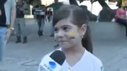 Esta menina é uma crítica dos