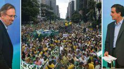 Milhares vão às ruas e governo promete medidas de combate à