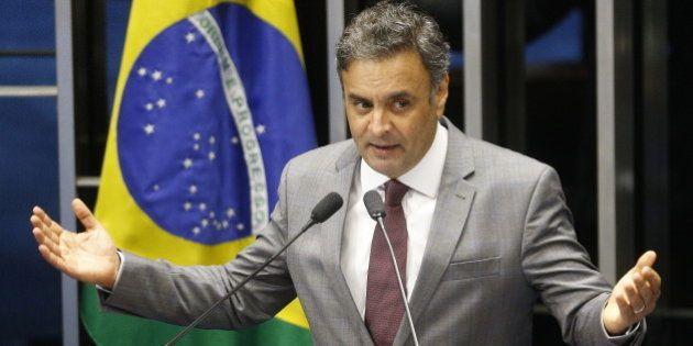 Aécio Neves associa protesto do dia 15 de março com o Dia da