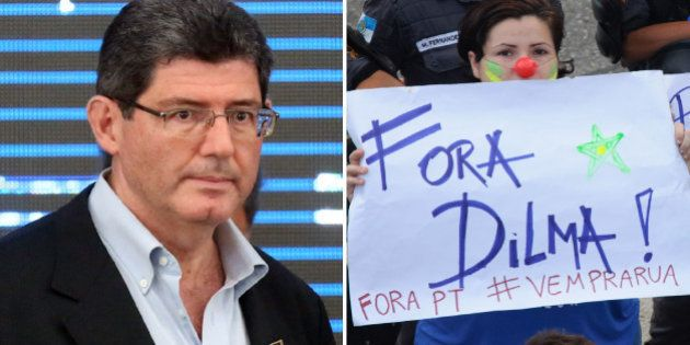 Um dia após protestos, Levy diz que Dilma está 'tranquila' em relação às medidas adotadas para a economia