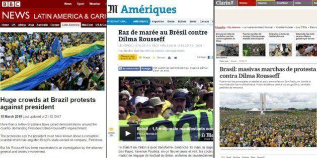 Protestos no Brasil ganham destaque nos principais veículos de imprensa internacionais; veja