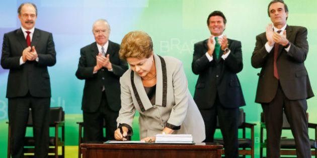 Após protestos contra o governo, a presidente Dilma Rousseff diz que valeu a pena lutar pela