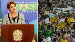 Apesar de protestos, Dilma tem dificuldade em reconhecer