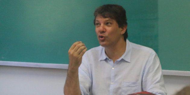 Fernando Haddad volta a dar aula na USP e fala de Plano Diretor e Parque