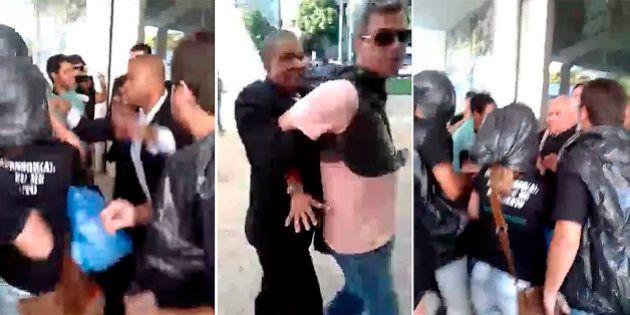 Protesto de professores na Assembleia Legislativa de Goiás termina em