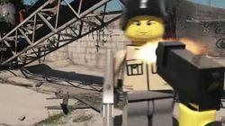 ASSISTA: Jogo de tiro com Lego?! Sim, este cara imaginou