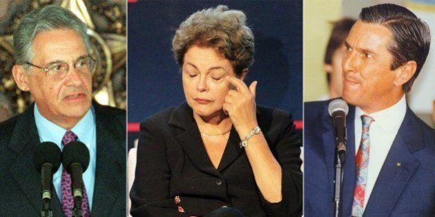 Impopularidade de Dilma supera a de FHC, no pior momento de seu mandato, e cola na de Collor antes de