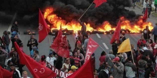 MTST protesta em 13 estados contra a extrema direita e reivindica reformas