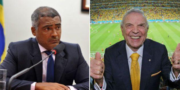 Romário emplaca CPI do Futebol e detona ex-presidente da CBF: