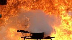 ASSISTA: Por que NUNCA se deve apagar óleo em chamas com