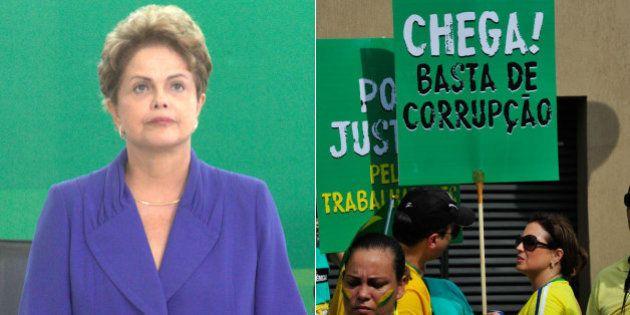 Calcado em cinco pontos, pacote anticorrupção é lançado pela presidente Dilma Rousseff em