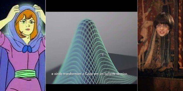 Esta empresa desenvolveu a capa da invisibilidade... e você passa por ela todos os