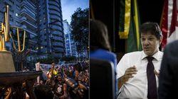 Haddad critica manifestação do MPL em frente a sua