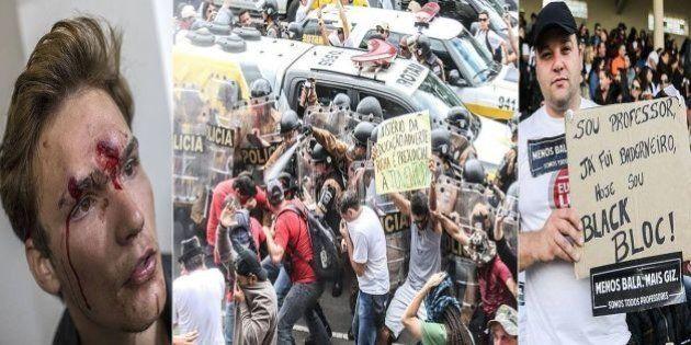 'Batalha do Centro Cívico', 1 mês: Erros e escândalos de Beto Richa contribuem para o fortalecimento...