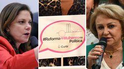 Bancada feminina reforça campanha para incluir mulheres na reforma