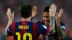 Com gols de Messi e Neymar, Barcelona conquista Copa do