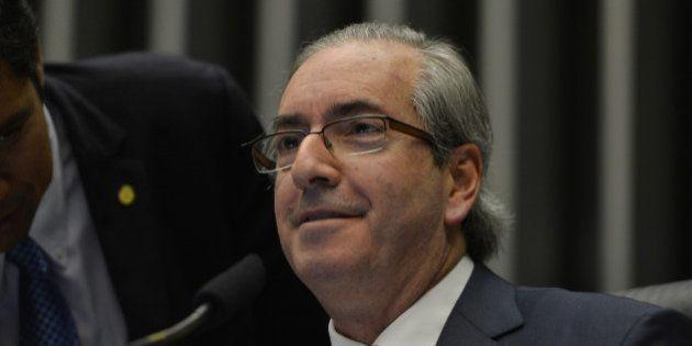 Predidente da Câmara dos Deputados, Eduardo Cunha, preside sessão de votação da Casa (Fabio Rodrigues...