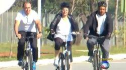 Dilma na bike e outras 8 maneiras de aliviar a tensão em meio a