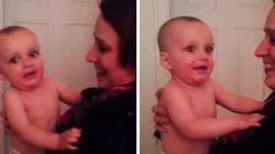 ASSISTA: Este bebê ficou confuso ao conhecer irmã gêmea de sua