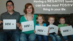 Ele é HIV Positivo, mas sua esposa e seus filhos não. Saiba o