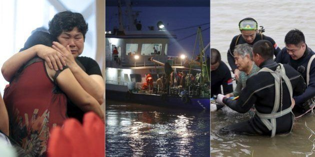 Equipes de resgate ouvem vozes de dentro do navio naufragado na China e correm contra o tempo para salvar