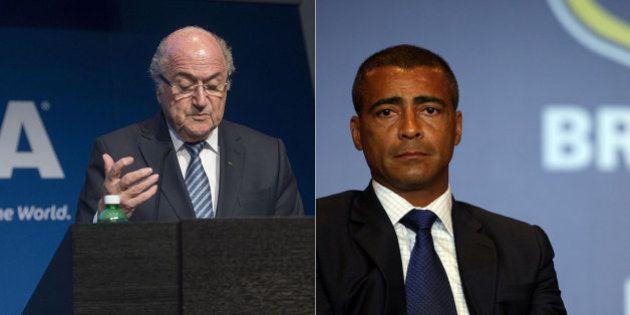 Romário comemora renúncia de Blatter: 'Melhor notícia dos últimos