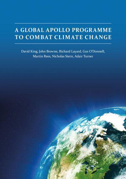Precisamos de um Programa Apolo Global para lidar com a mudança