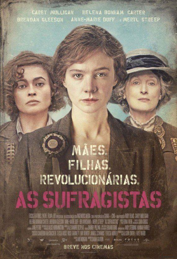 As origens do feminismo estão no primeiro trailer de 'Suffragette'