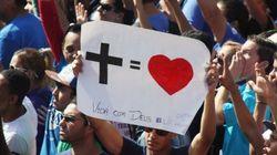 Com orações pelo fim da corrupção, Marcha para Jesus reúne 340 mil em