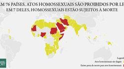 O que acontece nos países onde é proibido ser