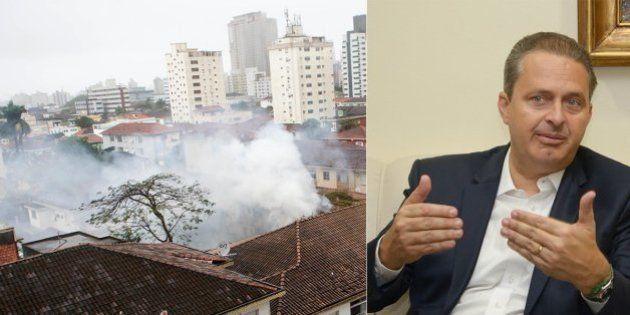 Morte de Eduardo Campos: candidato à Presidência morre em acidente aéreo em